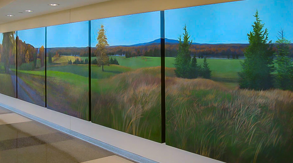 Commission for Sherman Hospital, Elgin, IL    6' X 30'   right view